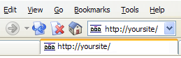  FavIcon in Mozilla based browsers 